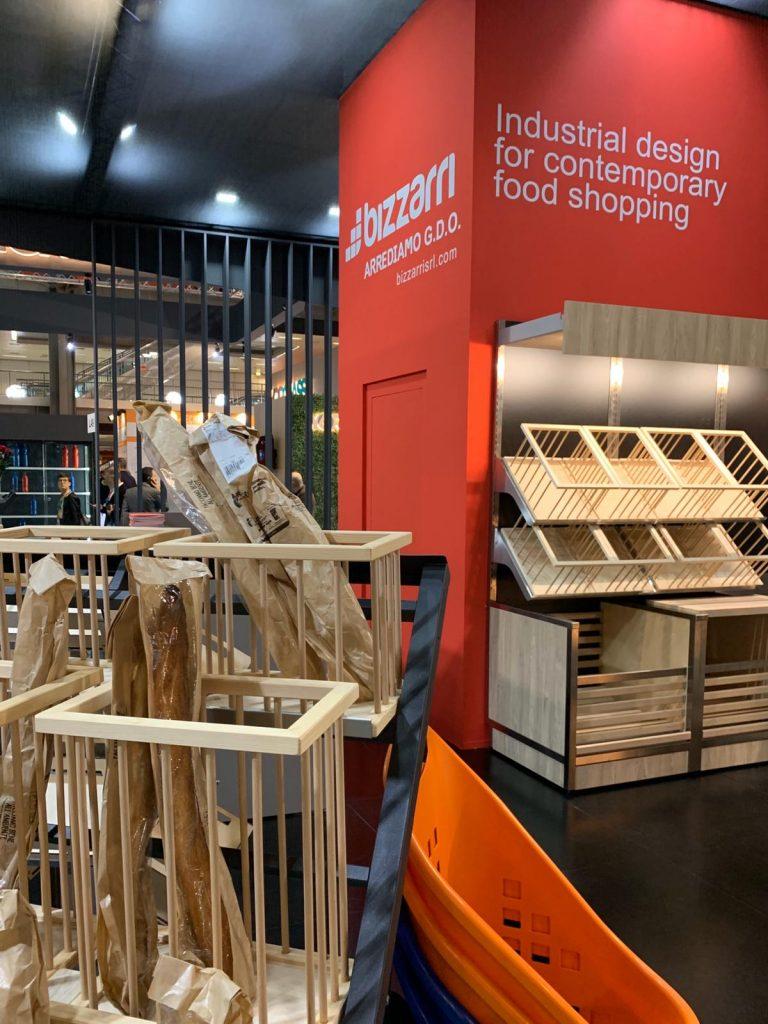 Ebe120 Baguette Stand Bizzarri Host Milano Arredo Grande Distribuzione